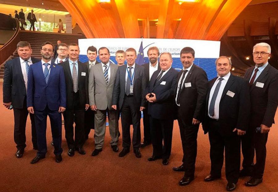 Андрей Тищенко принял участие в Страсбурге