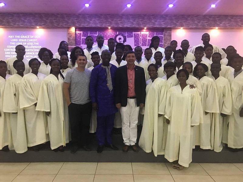 Епископ Андрей Тищенко совершил поездку на Африканский континент