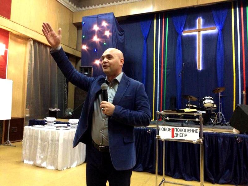 Сергей Любежанин провел служение в Днепре