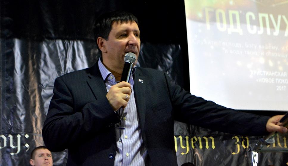 Андрей Тищенко провел служение в Терновке