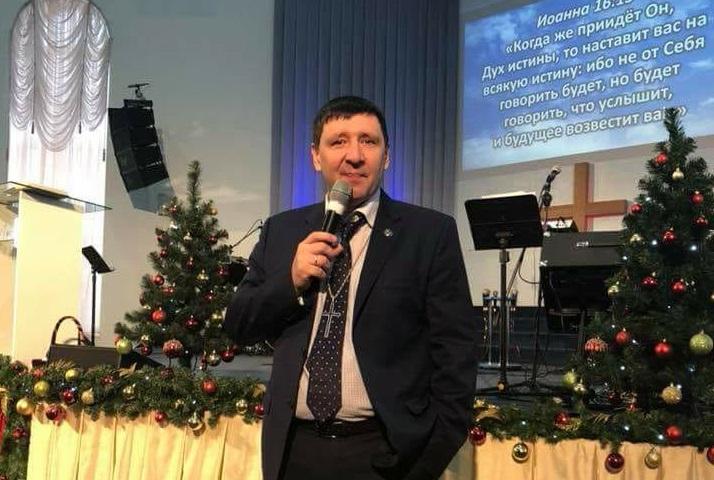 Епископ Андрей Тищенко посетил церковь «Спасение»