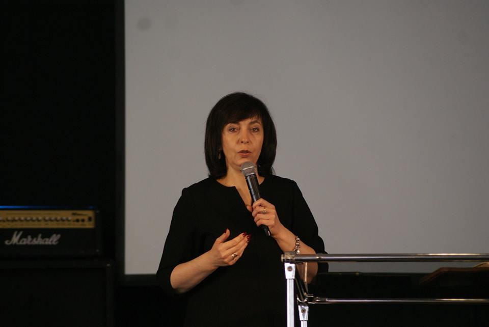Ирина Тищенко провела служения в церкви «Новое поколение» г. Новомосковск