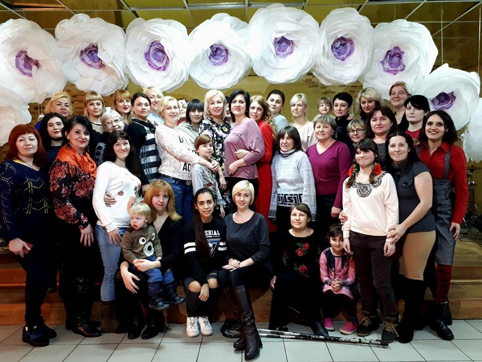 Новая встреча прошла  в женском клубе «Время перемен»