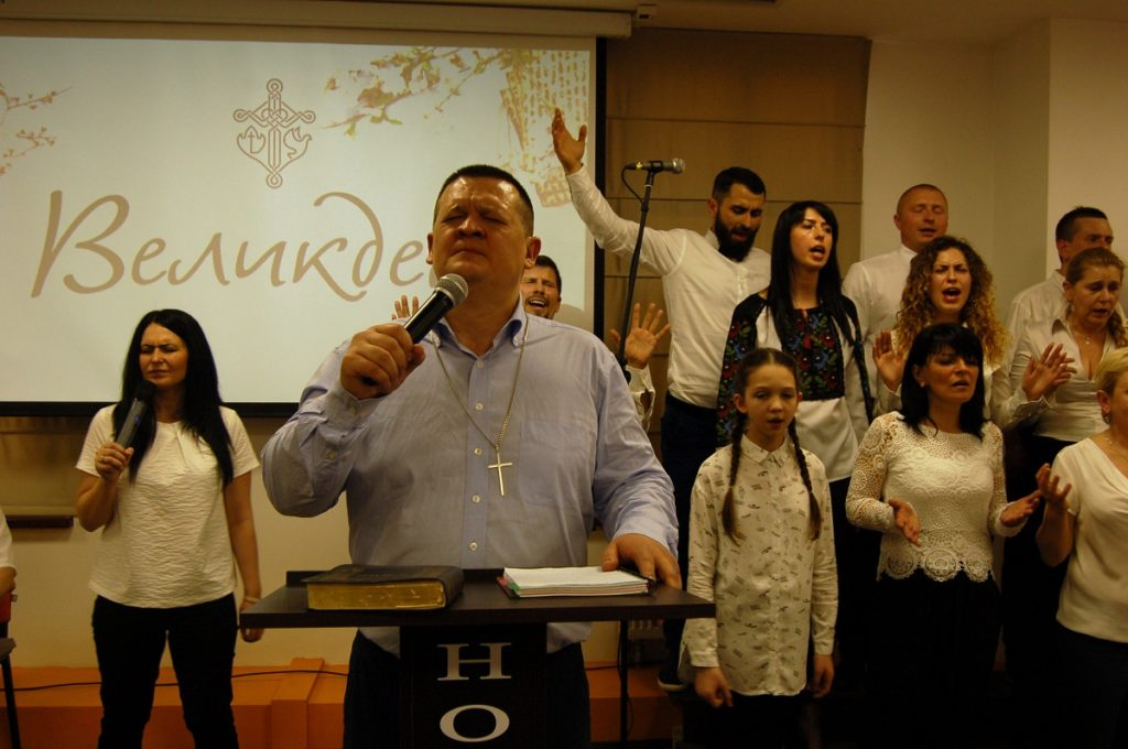 Во Львове церковь «Новое поколение» отпраздновала Пасху