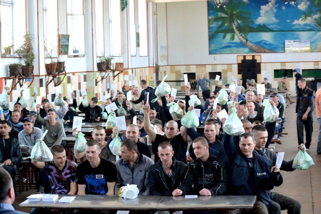 «Новое поколение» открыло новую церковь в Беленьковской ИК №99