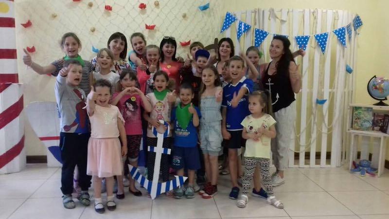 Впервые в Харькове прошёл детский христианский лагерь «Полное погружение»