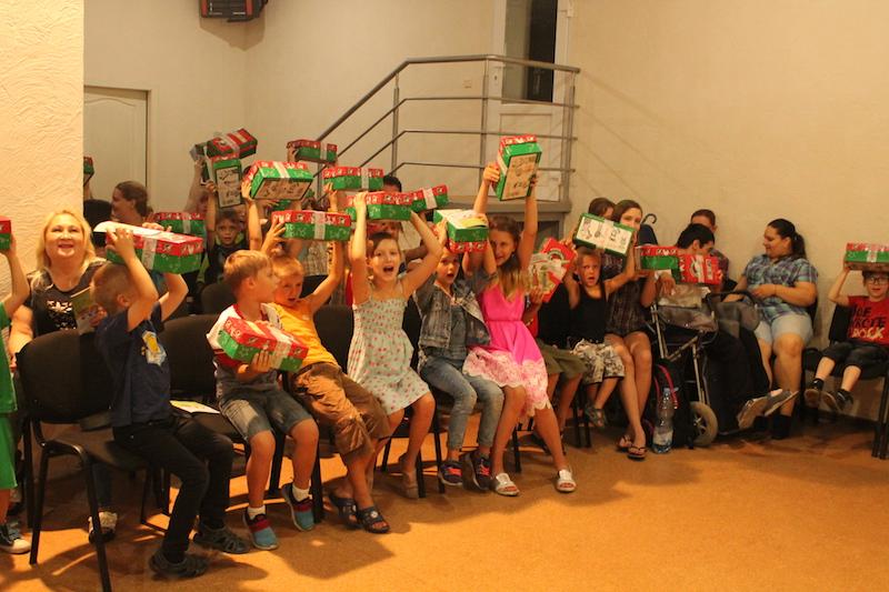 В Николаевской церкви «Новое поколение» прошло  евангелизационное служение для детей