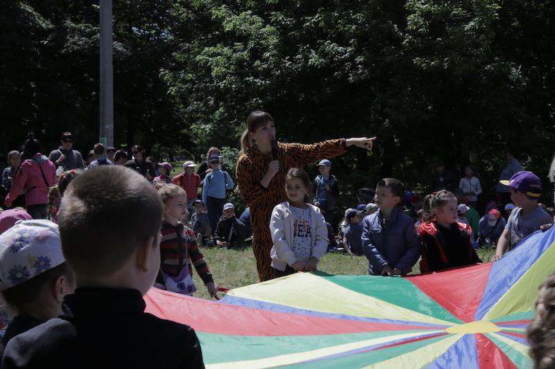 В Харькове прошел детский праздник