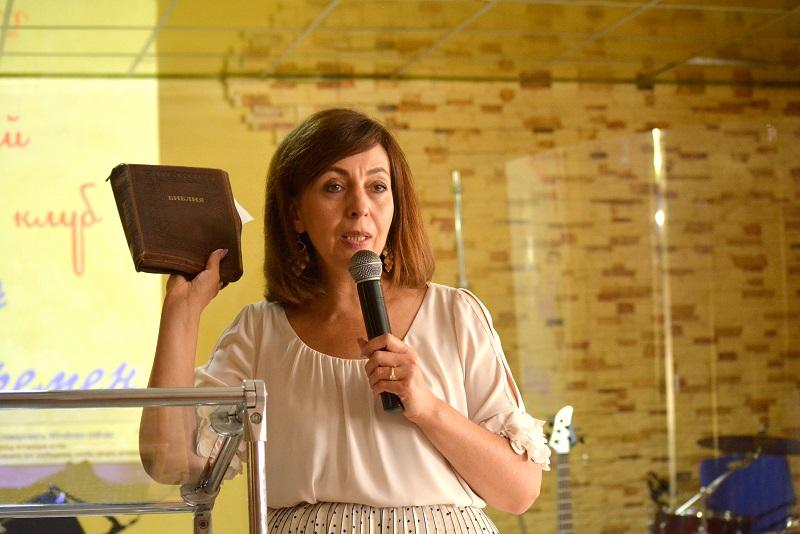 Ирина Тищенко провела два служения в Терновке