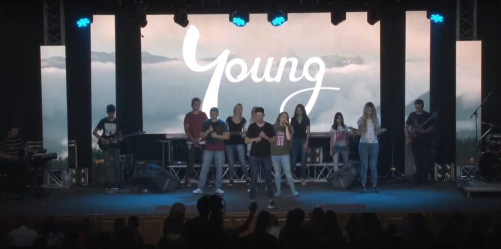 В церкви «Новое поколение» прошла масштабная молодежная конференция «YOUNG»