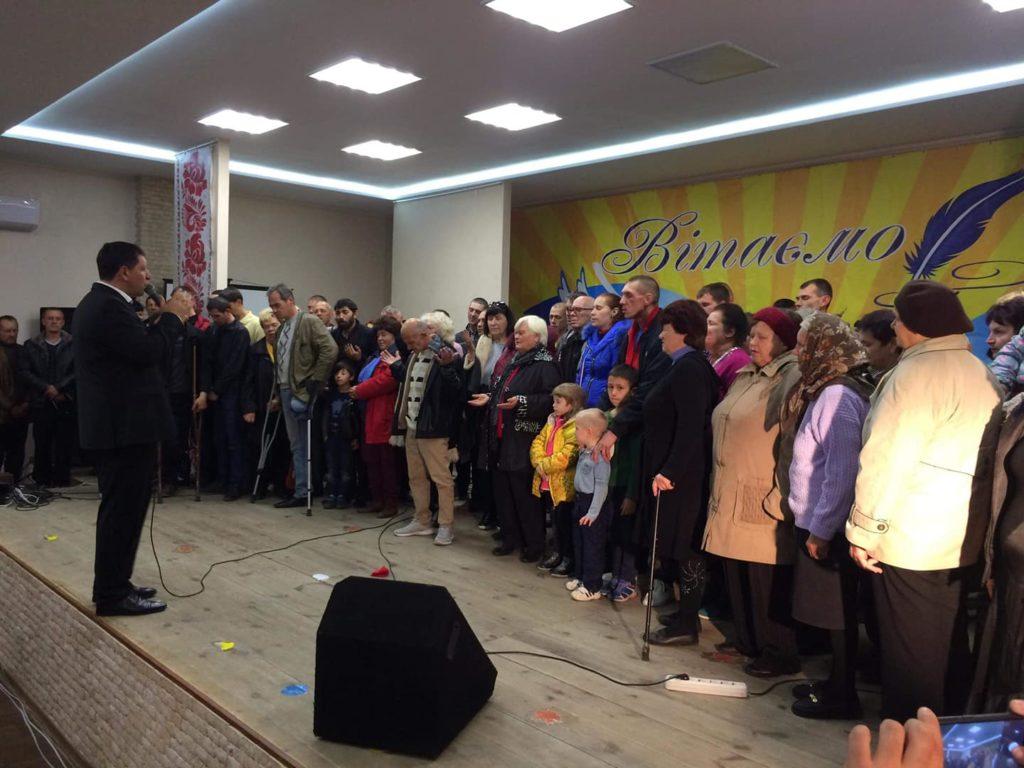 В г.Покровск состоялось открытие церкви «Новое Поколение»