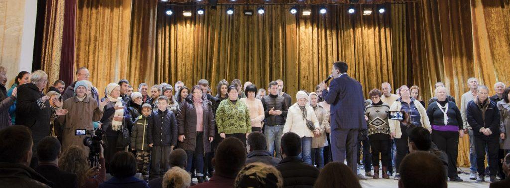 В Одессе состоялось богослужение с участием епископа Андрея Тищенко