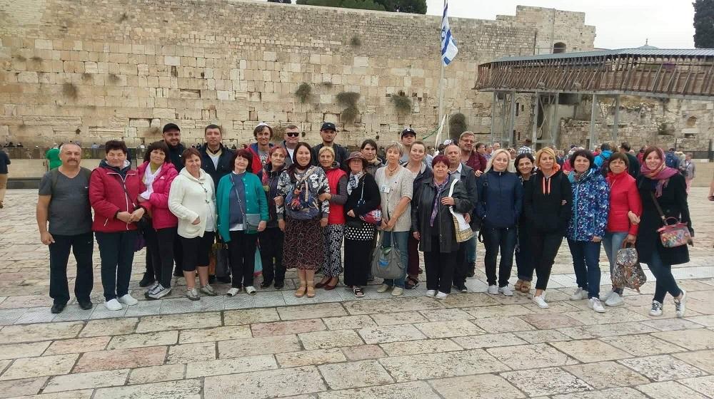 Епископ Андрей Тищенко провел «Исцеляющий тур в Израиль»