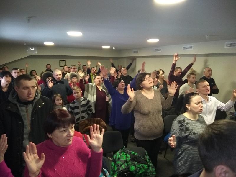 Наталья Завсеголова учила о молитве в Кривом Роге