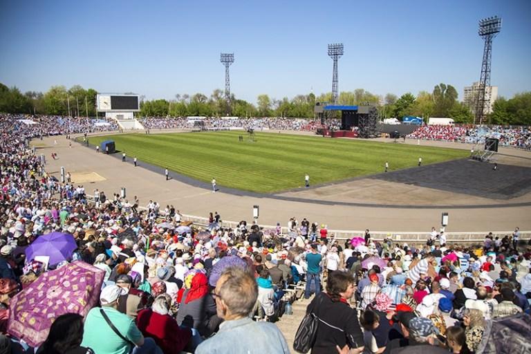 На стадионе «Метеор» В Днепре состоится масштабная «Исцеляющая молитва -2019»