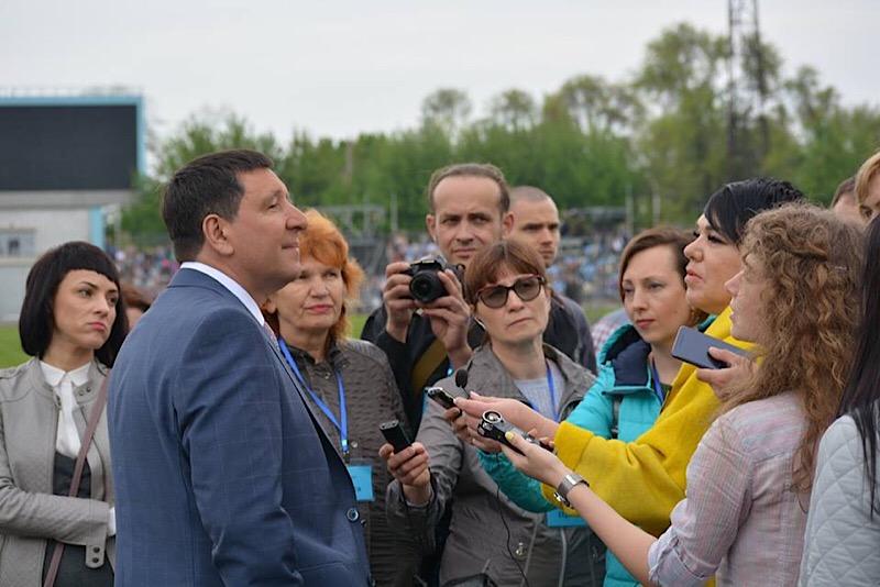 Епископ Андрей Тищенко ответил на вопросы журналистов о масштабной молитве в Днепре