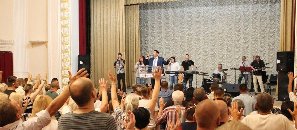 Старший Епископ УХЦ «Новое поколение» Андрей Тищенко посетил юг Украины