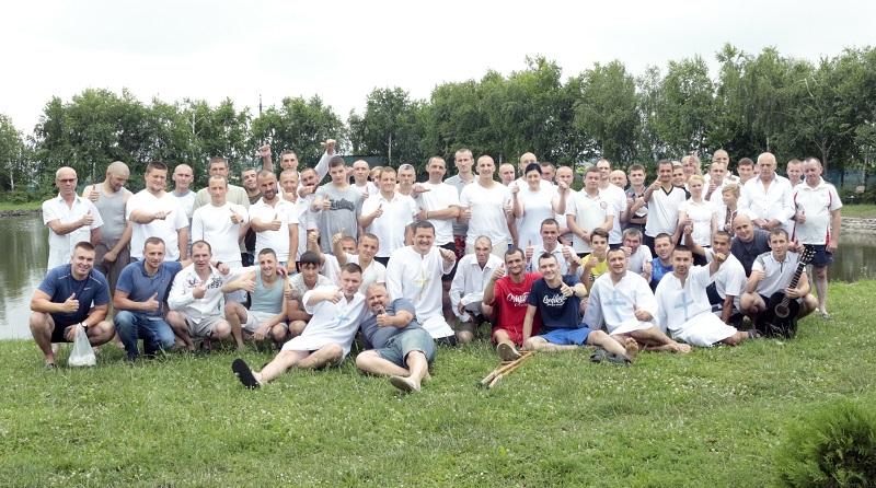 У Львові відбулося Хрещення на озері