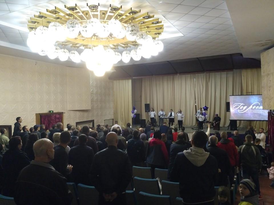 В городе Днепр открылась ещё одна церковь «Новое Поколение»