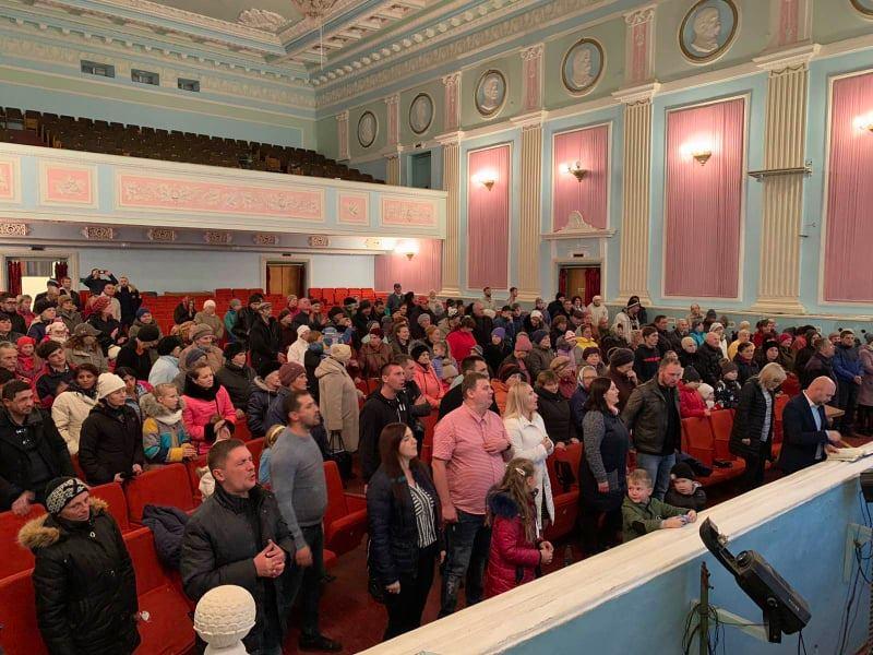 В городе Часов Яр Донецкой области открылась новая церковь