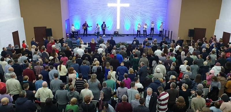 В Терновке открылся новый храм церкви «Новое поколение»